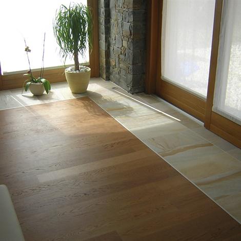 Pavimenti per interni pavimenti schenatti srl real stone covering - Unire due pavimenti diversi ...